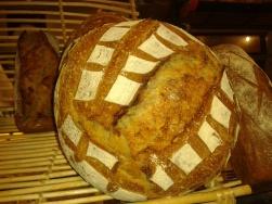 Miche de pain bis